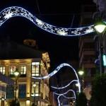Iluminación de la calle Santiago
