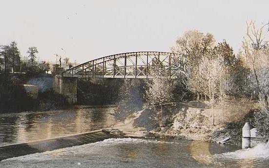 puente colgante años70