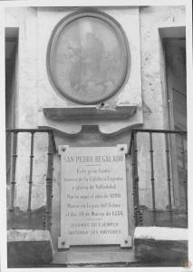 Placa San Pedro