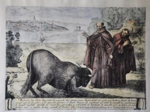 Milagro del toro de San Pedro Regalado