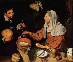 vieja friendo huevos velazquez 1618