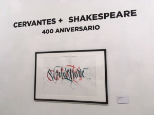 Cervantes X Shakespeare 400 Aniversario - Tinta