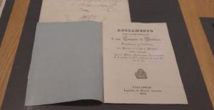 Expediente para la aprobación de un reglamento.  21 de mayo de 1840 a 16 de noviembre de 1842.
