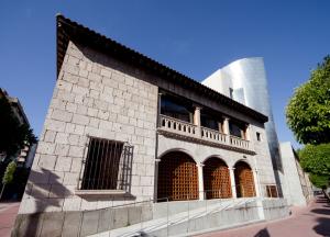 Arquería de la Casa de los Garibay, integrada en la casa-museo Colón