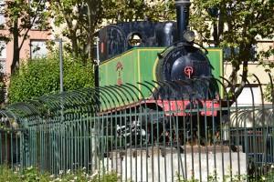 Tren burra en Valladolid