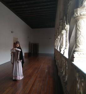 Catalina de Lancaster, en el Colegio de San Gregorio. Aquí murió ella, aunque antes de que se levantase el imponente edificio.