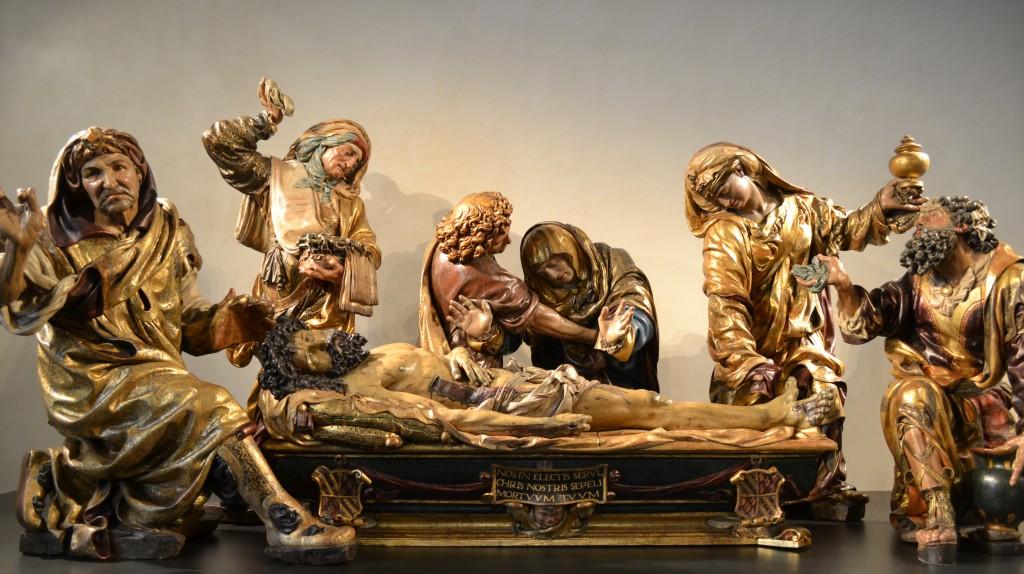 Santo Entierro. Juan de Juni 1541 - 1544