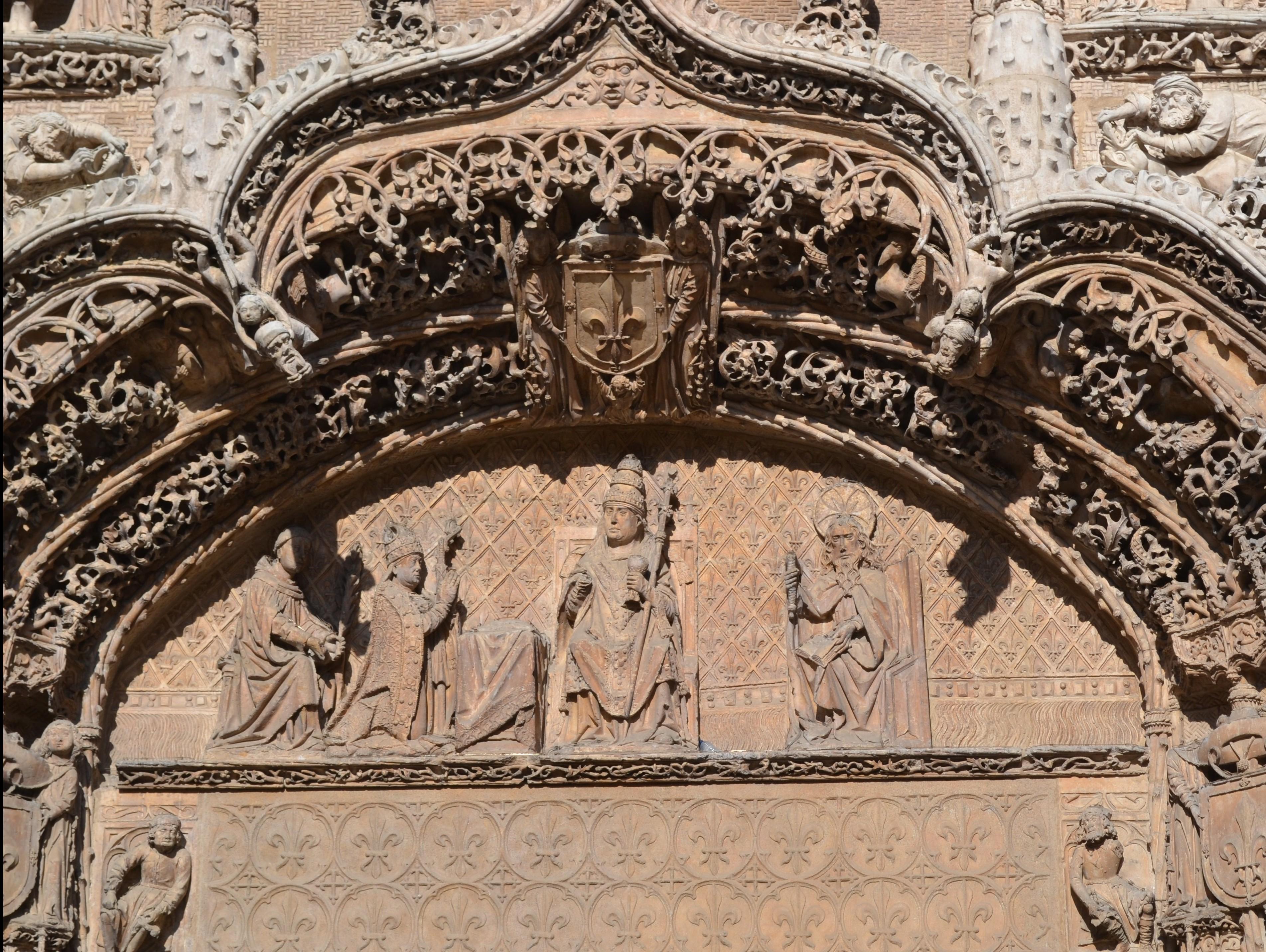 Primer cuerpo fachada Museo Nacional Escultura Valladolid