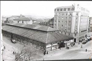 El Mercado del Campillo en los años 60.