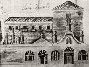 El Convento de San José de Padres Capuchinos, por Ventura Pérez (s.XVIII)
