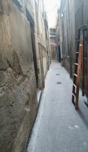 La calle de Torneros de Valladolid.
