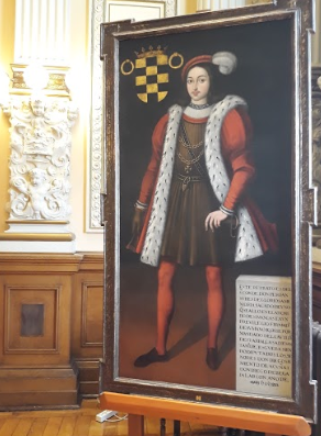 retrato conde ansúrez