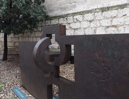 Escultura de Chillida en Valladolid