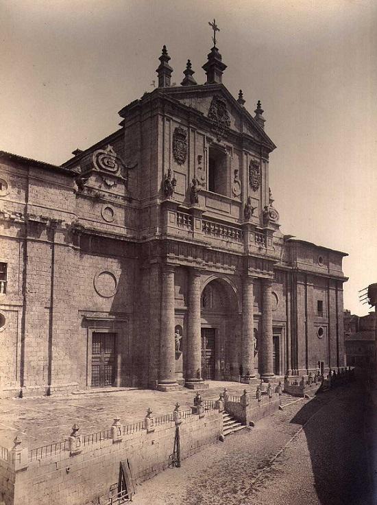 Catedral de Valladolid sin torres