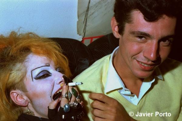 JAVIER PORTO. May Paredes y Bernardo Bonezzi,1982