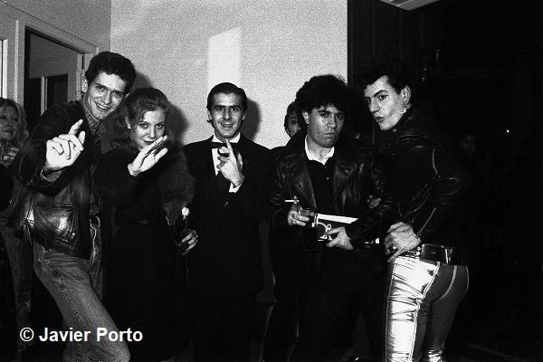 JAVIER PORTO. Noche de fiesta, 1982