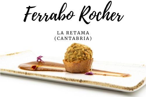Tapa Ferrabo Rocher  - La retama (Cantabria)