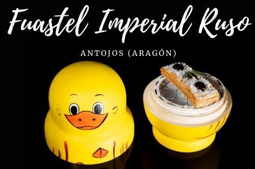 Tapa Fuastel Imperial Ruso - Antojos (Aragón)