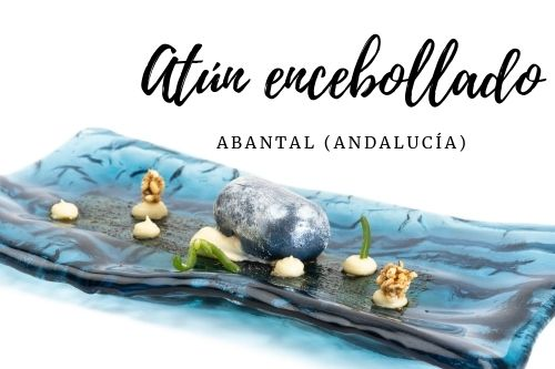 Tapa Atún encebollado - Abantal (Andalucía)