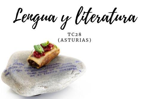 Tapa Lengua y literatura - TC 28 (Asturias)