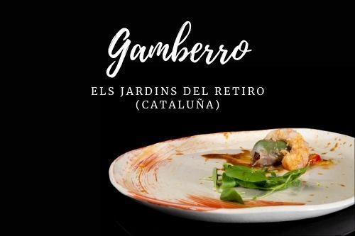 Tapa Gamberro - Els jardins del Retiro (Cataluña)