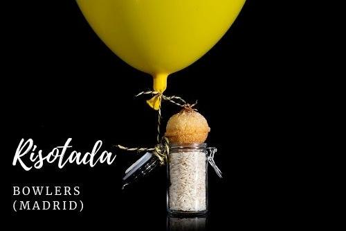 Tapa Risotada - Bowlers (Madrid)