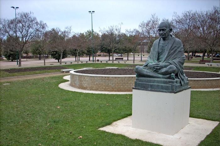 Escultura de Ram Vanji Sutar en Valladolid