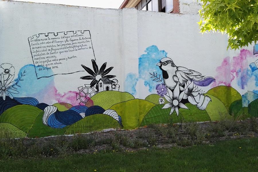 Mural en el barrio España