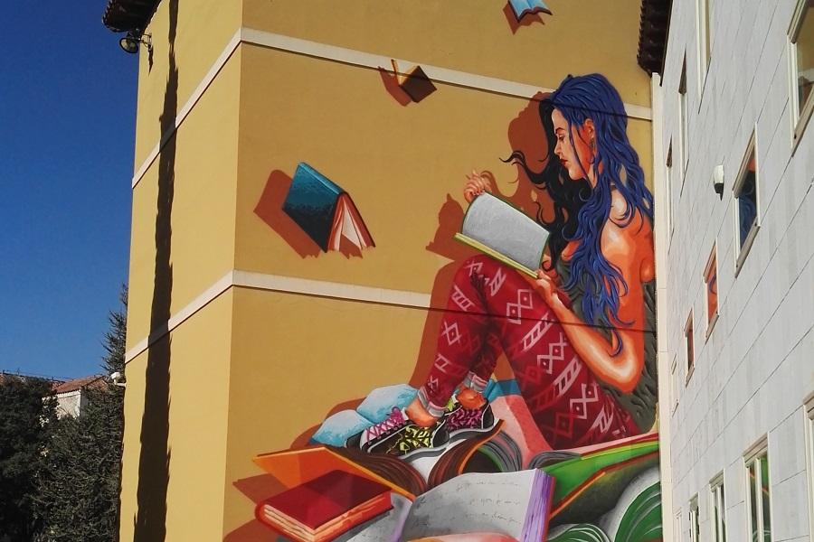 Mural en la Casa del Estudiante