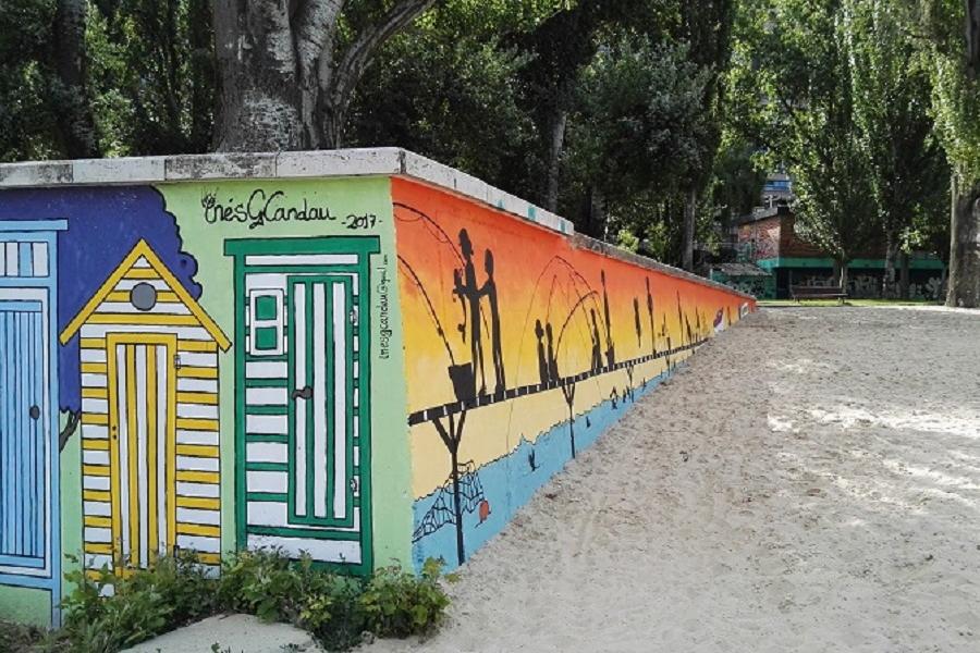 Mural de Inés García Candau