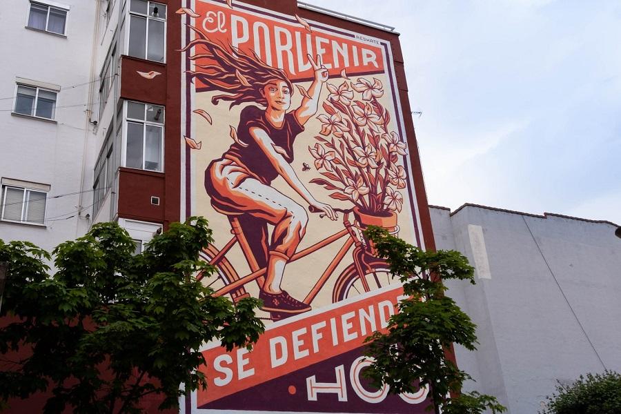 mural calle porvenir