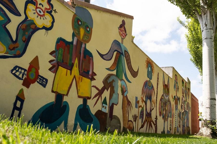 mural posible calle golondrina
