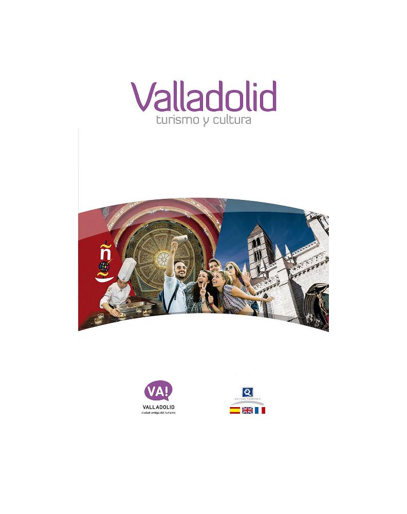 Portada del documento Guía de turismo y cultura en Valladolid