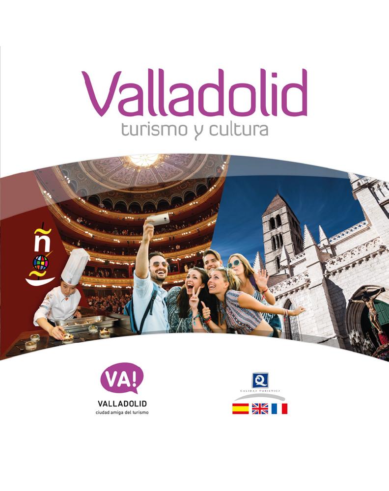 Portada del documento Turismo y Cultura Valladolid 2018