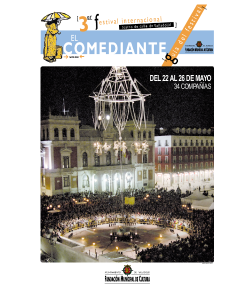 Portada del documento El comediante - 2002