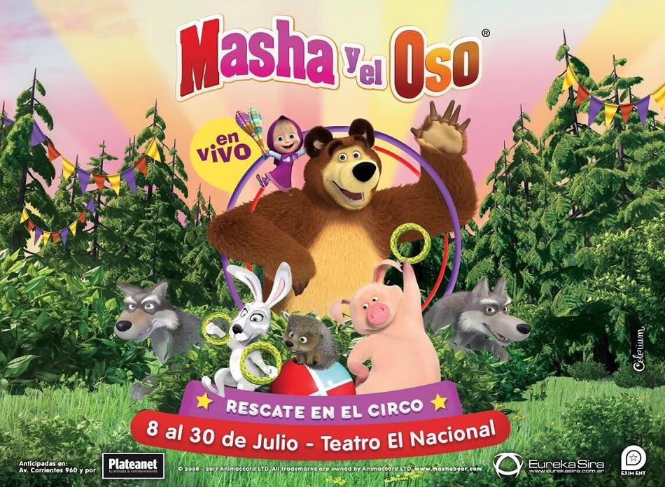No hay imagen disponible de Masha y el Oso