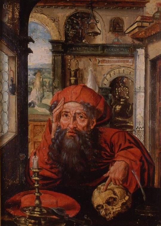Óleo sobre tabla. Siglo XVI