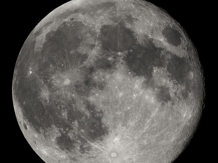 No hay imagen disponible de Fotografía de la Luna