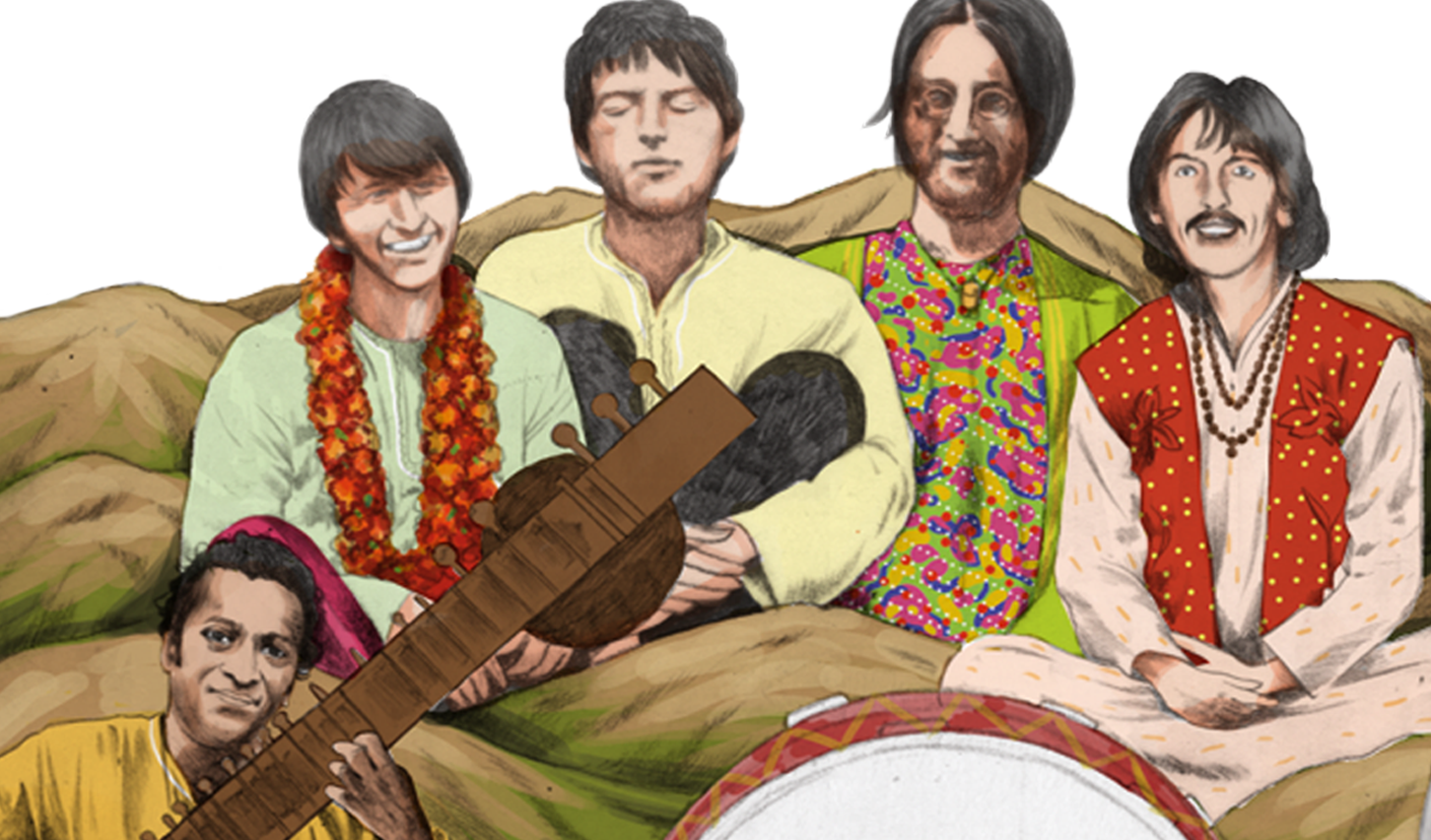 No hay imagen disponible de The Beatles en India